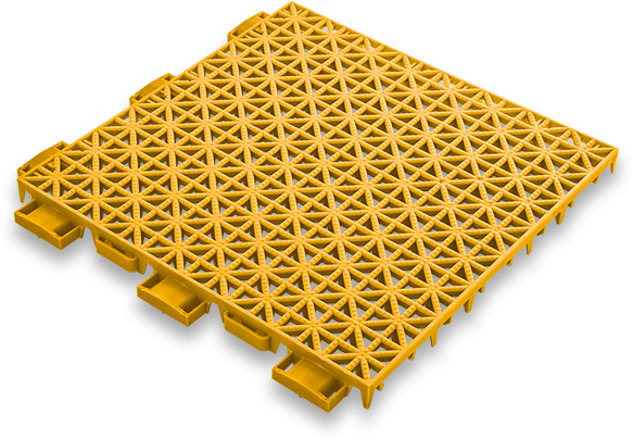 dalle-jaune-shuffleboard